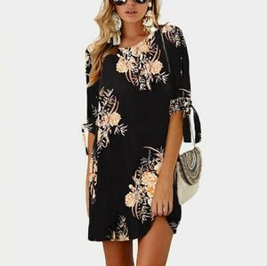 Dresses & Skirts - women short sleeve summer mini dress